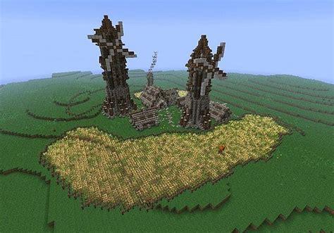 Wall Blueprints Medieval Farm Minecraft Project