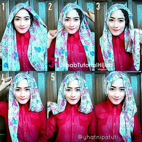 tutorial turban segi empat simple 5 tutorial hijab segi empat simple tapi mewah dan elegant