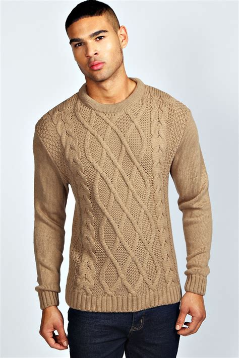 cable knit jumper cable knit jumper crochet and knit