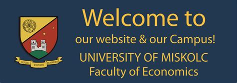 Of Miskolc Mba by Introduction Faculty Of Economics