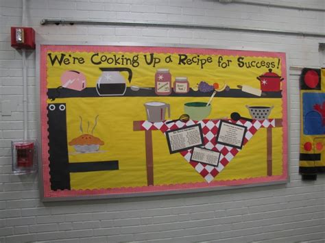 kitchen bulletin board ideas love all the pictures on this recipe for success