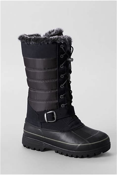 lands end boots womens lands end s snow boots