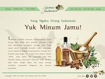 New Edukasi Kreatif Packing Untuk Menghindari Paket perancangan komunikasi visual website edukasi tentang jamu indonesia