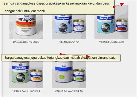 Harga Clear Danagloss katalog warna danagloss katalog belanja shopping