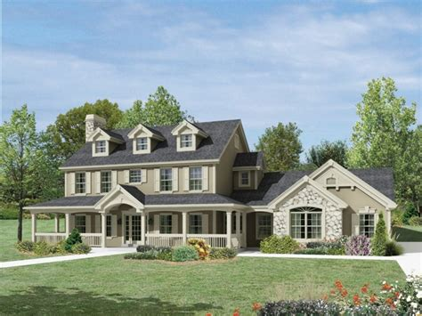 Small Georgian House Plans by Small Porches Colonial House Plans With Wrap Around