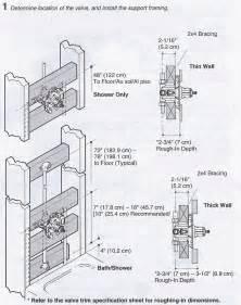 installing a k 304 kohler rite temp bath amp shower valve