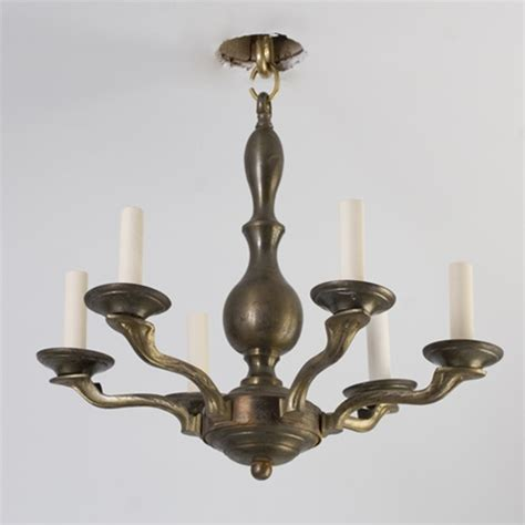 Brass Light Gallery | vintage chandelier brass neoclasic chandelier from brass