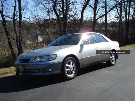 2001 Lexus Es300 Base Sedan 4 Door 3 0l
