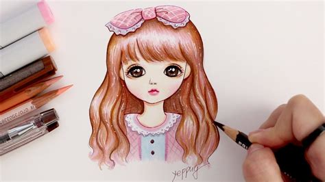 jointed doll drawing drawing 구체관절인형 그리기 how to draw a doll drawing tutorial