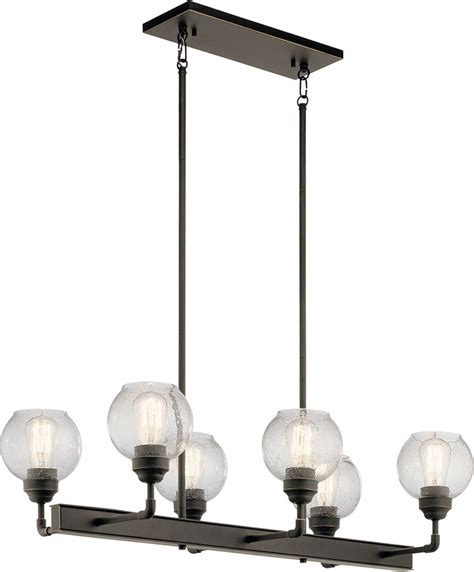 Kichler Island Lighting Kichler 43994oz Niles Modern Olde Bronze Kitchen Island Light Kic 43994oz