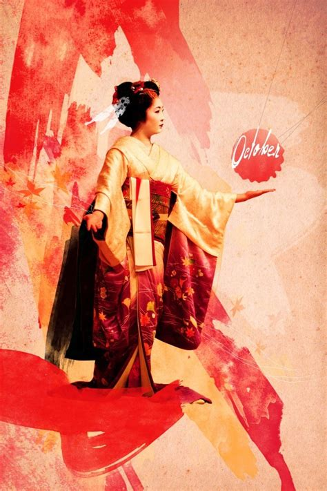 layout poster photoshop design a gorgeous geisha art poster in photoshop