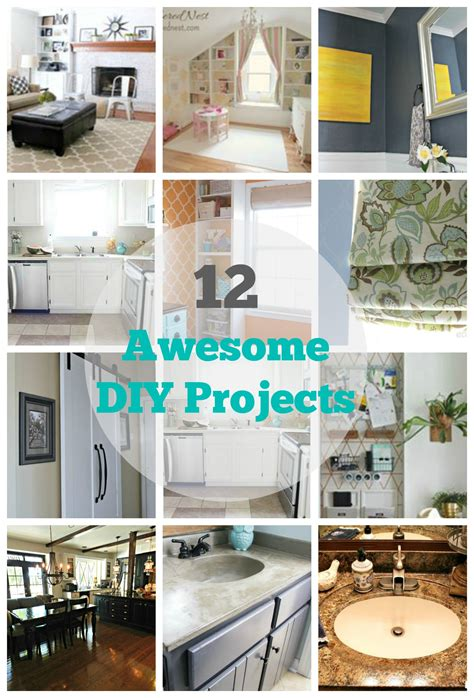 home improvement diy projects 12 diy home improvement projects my uncommon slice of suburbia