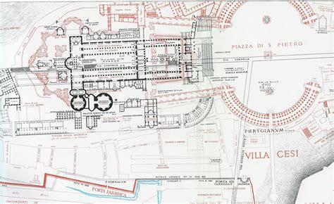 apostolic palace floor plan file papal basilica of saint peter lanciani jpg