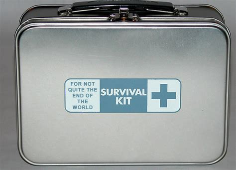survival kit survival kit for not quite the end of the world the