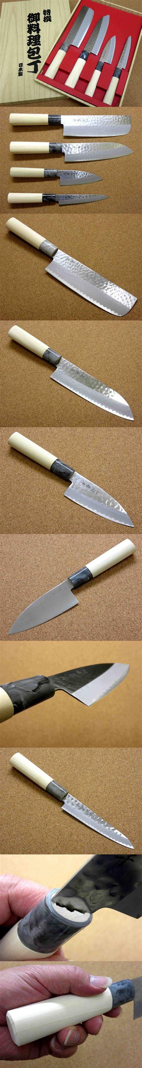 sushi ceramic japanese kitchen knife set santoku nakiri japanese yaxell seki tobei kitchen knife 4 sets santoku