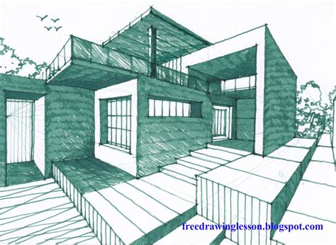 how to draw a house 2 awesome and easy way for everyone how to draw a house learn to draw