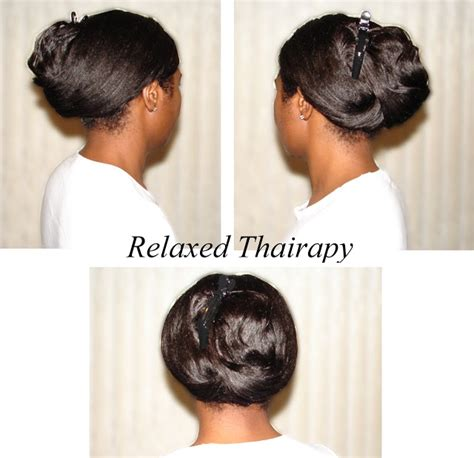 simple hairstyles for relaxed hair cute hairstyle for relaxed hair in less than 2 minutes