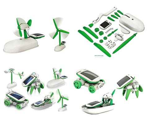 Robot Green Power 6 In 1 Solar Robot Recycler send you a solar powered robot kit 6 in 1 fiverr