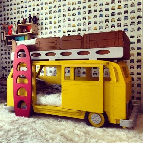 hippie van bed 9 cool children s bedrooms your kids will wish they had