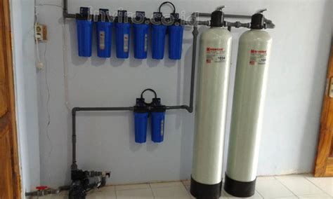 Filter Mesin Kangen Water pemasangan filter wtp untuk pretreatment mesin kangen water