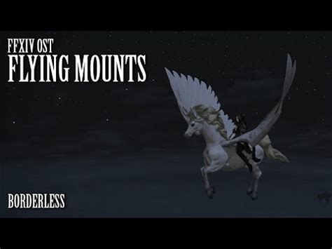 ffxiv heavensward pax east 2015 flying mounts youtube ffxiv heavensward griffin collector s edition flying m
