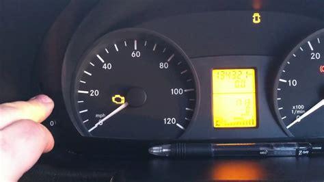 mercedes warning lights meaning pdf service restet sprinter youtube