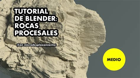 tutorial de blender tutorial de blender rocas procesales youtube
