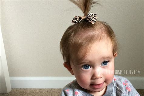 Hairstyles For Baby Hair by Baby And Toddler Hairstyles With My Littles