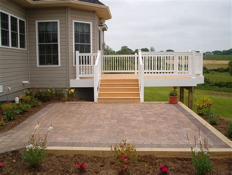 Creative Deck Designs Gallery Patios And Pavers Patio Decks Designs Pictures