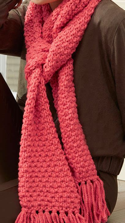 texture pattern scarf easy scarf knitting patterns in the loop knitting