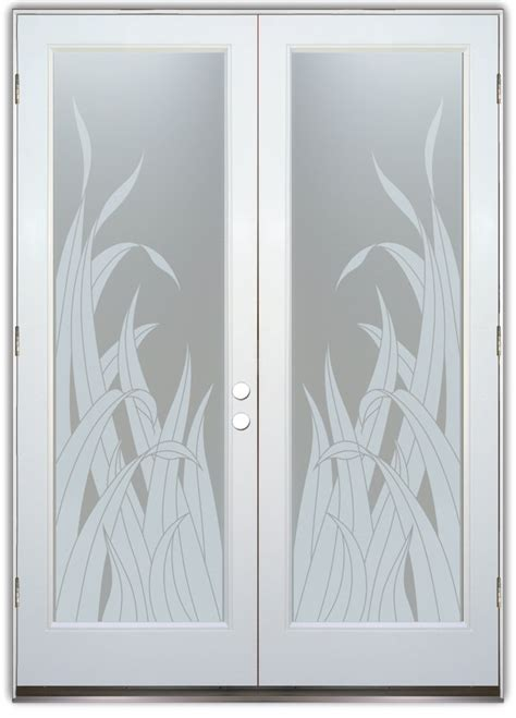 Beautiful Glass Front Doors With Reeds Sans Soucie Art Glass Doors Frosted Glass
