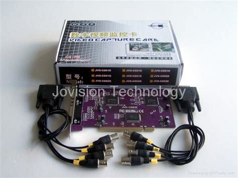 Dvr 8 Channel Real 1080p Jovision 8 channel h 264 real time pci dvr card jvs c692e