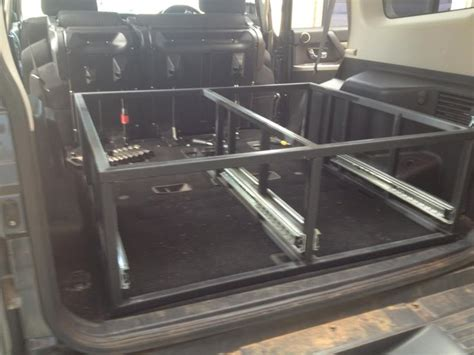 4wd Drawer Systems Diy by Diy Nw Pajero Rear Drawers Pajero 4wd Club Of