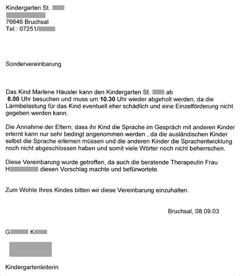 Brief Schreiben Antrag Stellen Schwerhoerigenforum De 187 Erfahrungen Mit 196 Rzten Akustikern Und Beh 246 Rden 187 Kindergarten