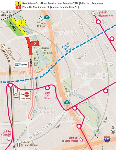 light rail trip planner 100 vta light rail map kt ingleside third streetcar
