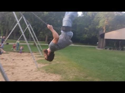 swing swing swing youtube epic fail on playground swing youtube