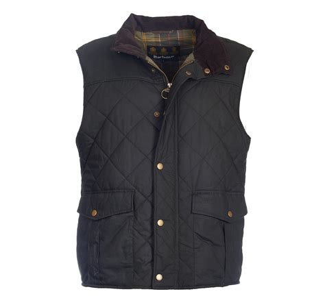 Barbour Quilted Gilet by Barbour Boxley Quilted Wax Gilet Countryway Gunshop