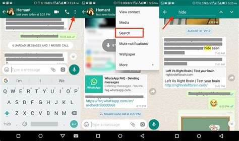 Search For On Whatsapp How To Search Specific Whatsapp Chats Groups On Android And Iphone