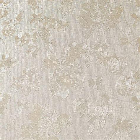 Bronze Kitchen Faucets Graham Amp Brown Cream Shimmer Floral Silk Wallpaper 32 892