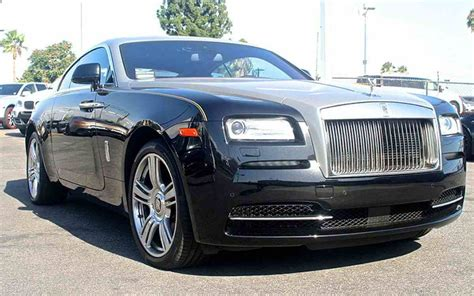 luxury rolls royce rolls royce wraith black rental los angeles and las vegas