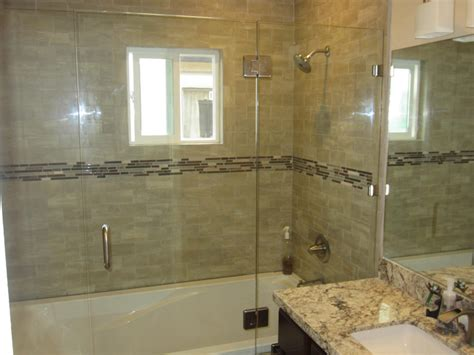Alternatives To Glass Shower Doors Sliding Shower Door Alternative Patriot Glass And Mirror San Diego Ca