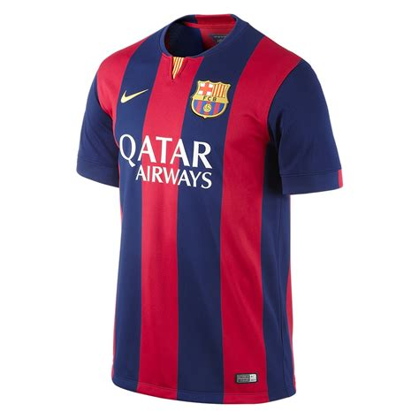 Jersey Barcelona Home 1213 nike fc barcelona pique 3 home 14 15 youth replica