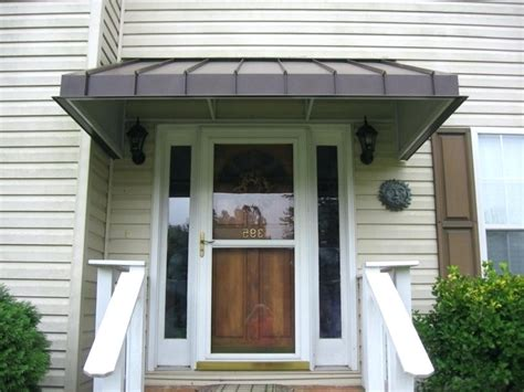 Aluminum Awnings For Doors by Metal Awnings For Doors Best Front Door Awning Ideas On