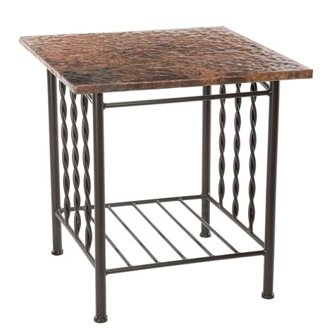 Wrought Iron End Tables by Prescott Side Table 901165 3 Jpg