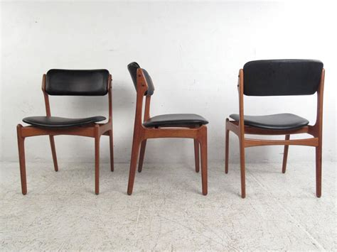 Esders Bathroom Furniture Teak Dining Room Chairs For Sale Set Of Six Dining Room Chairs In Teak By N O M 248 Ller 1960s