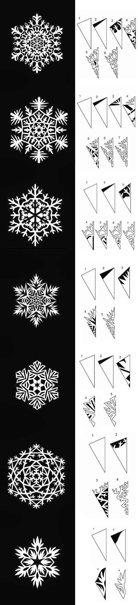 diy paper snowflakes templates diy paper snowflakes templates by hairstyle tutorials