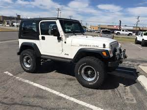 97 White Jeep Wrangler Cool White Tj With Rubicon Decal Jeep Wrangler Tj