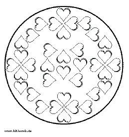mandala coloring pages valentines s day crafts mandalas coloring book pages
