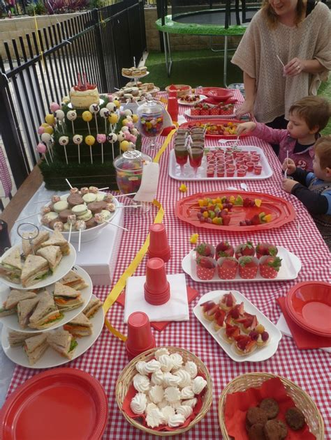farm themed birthday food farm theme 2nd birthday party food table barnyard party