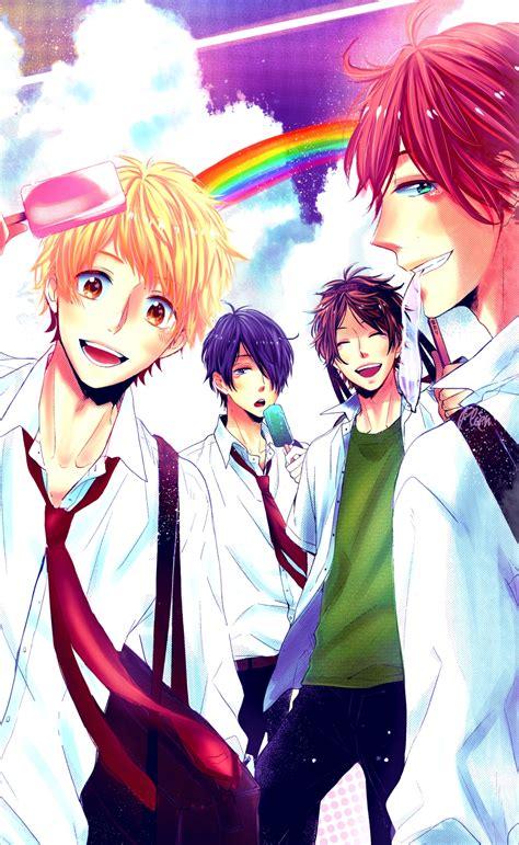 anime days nijiiro days zerochan anime image board